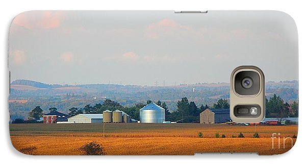 Galaxy Case featuring the photograph The Countryside by Davandra Cribbie