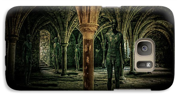 Galaxy Case featuring the photograph The Crypt by Chris Lord