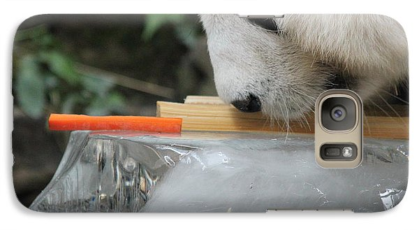Galaxy Case featuring the photograph The Curiosity Of Orange #1 by Nola Lee Kelsey