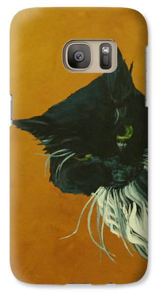 Galaxy Case featuring the painting The Doof by Wendy Shoults