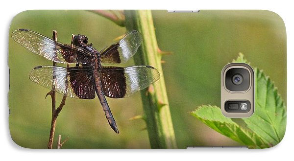 Galaxy Case featuring the photograph The Dragon Fly 3 by Laurinda Bowling