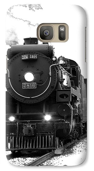 Train Galaxy S7 Case - The Empress by Vivian Christopher