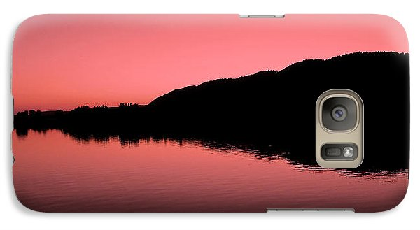 Galaxy Case featuring the photograph The End Of The Day ... by Juergen Weiss