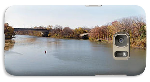 Galaxy Case featuring the photograph The Erie Canal Crossing The Genesee River by William Norton