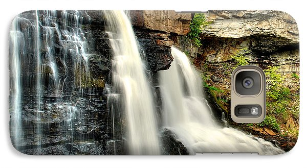 Galaxy Case featuring the photograph The Face Of The Falls by Mark Dodd