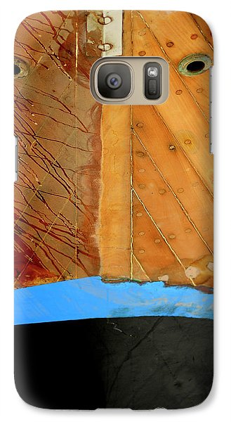 Galaxy Case featuring the photograph The Face by Pedro Cardona