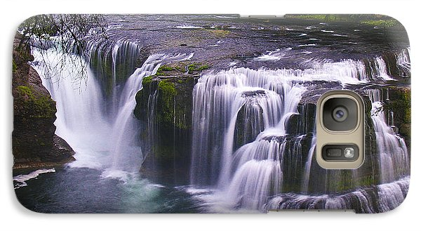 Galaxy Case featuring the photograph The Falls by David Gleeson