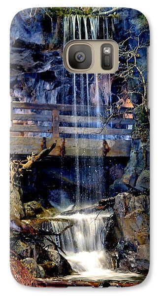 Galaxy Case featuring the photograph The Falls by Deena Stoddard