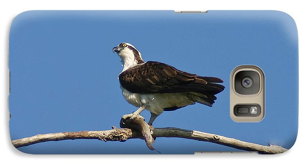 Galaxy Case featuring the photograph The Fisherman by Mitch Shindelbower