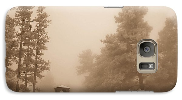 Galaxy Case featuring the photograph The Fog by Shannon Harrington