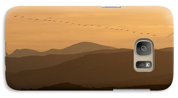 Galaxy Case featuring the photograph The Formation by Monte Stevens