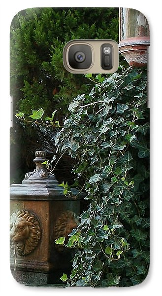 Galaxy Case featuring the photograph The Garden by Karen Harrison