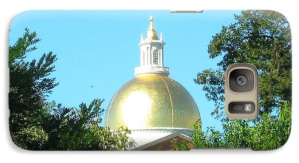Galaxy Case featuring the photograph The Gold Dome by Bruce Carpenter