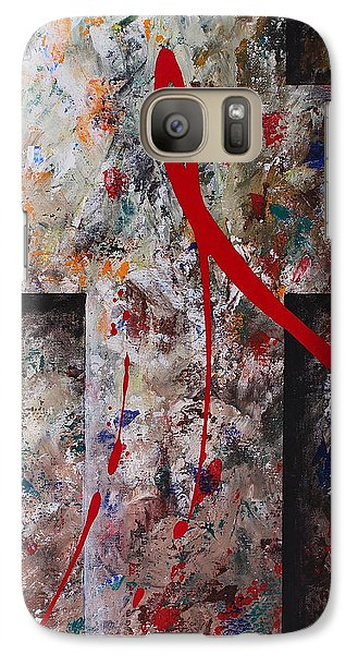 Galaxy Case featuring the painting The Greatest Love by Kume Bryant