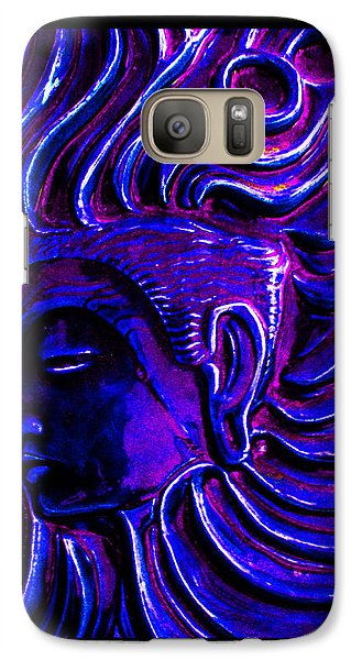Galaxy Case featuring the photograph The Higher Mind by Susanne Still