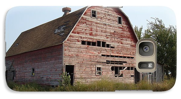Galaxy Case featuring the photograph The Hole Barn by Bonfire Photography