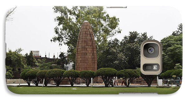 Galaxy Case featuring the photograph The Jallianwala Bagh Memorial In Amritsar by Ashish Agarwal