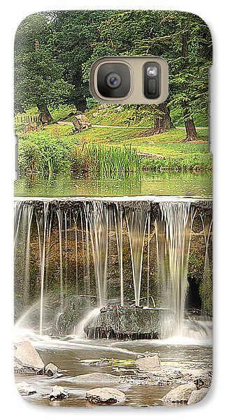 Galaxy Case featuring the photograph The Lin by Linsey Williams