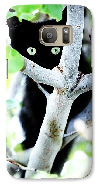 Galaxy Case featuring the photograph The Little Huntress by Jessica Shelton