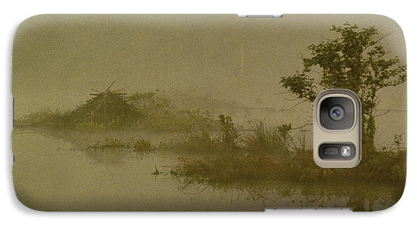 The Lodge In The Mist Galaxy S7 Case by Skip Willits