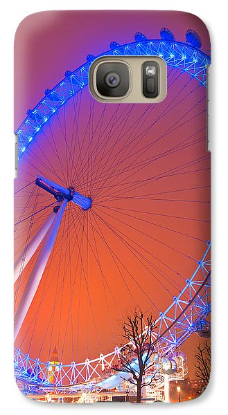 Galaxy Case featuring the photograph The London Eye by Luciano Mortula