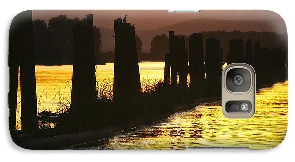 Galaxy Case featuring the photograph The Lost River Of Gold by Albert Seger