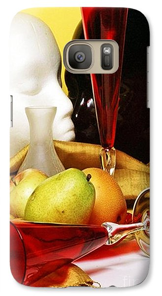 Galaxy Case featuring the photograph The Lovers by Elf Evans