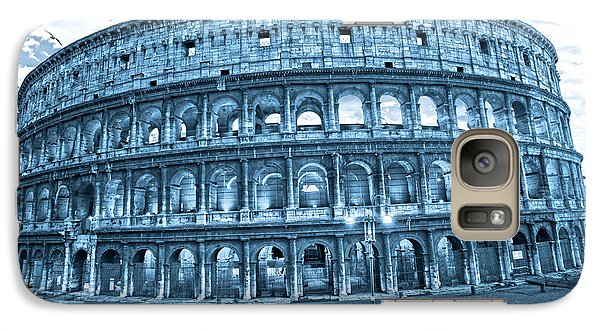 Galaxy Case featuring the photograph The Majestic Coliseum by Luciano Mortula