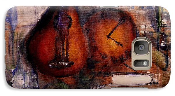 Galaxy Case featuring the painting The Mandolin by Evelina Popilian