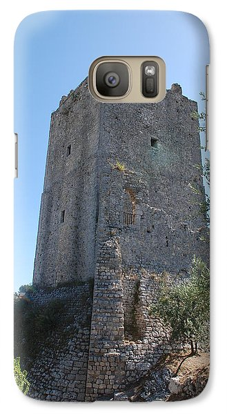 Galaxy Case featuring the photograph The Medieval Tower by Dany Lison