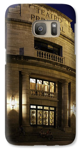Galaxy Case featuring the photograph The Meeting Place by Lynn Palmer