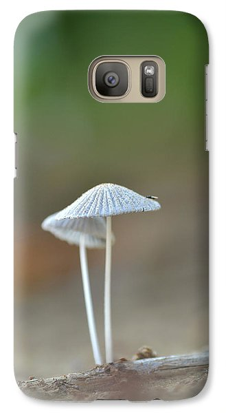 Galaxy Case featuring the photograph The Mushrooms by JD Grimes