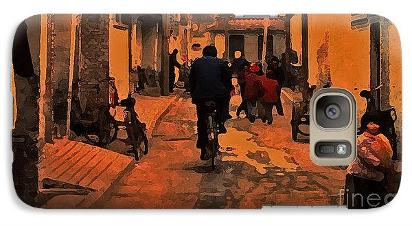 Galaxy Case featuring the photograph The Neighborhood by Lydia Holly