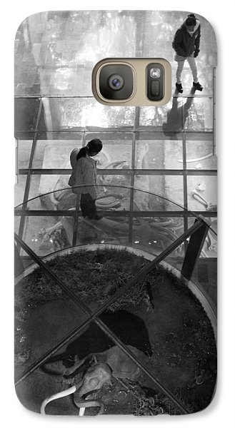 Galaxy Case featuring the photograph The Oculus by Lynn Palmer