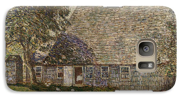 The Old Mulford House Galaxy Case by Childe Hassam