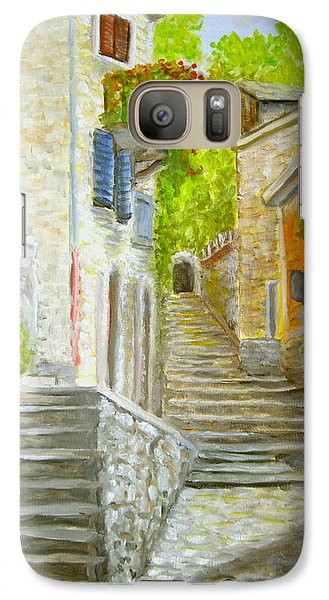 Galaxy Case featuring the painting The Old Town by Luczay