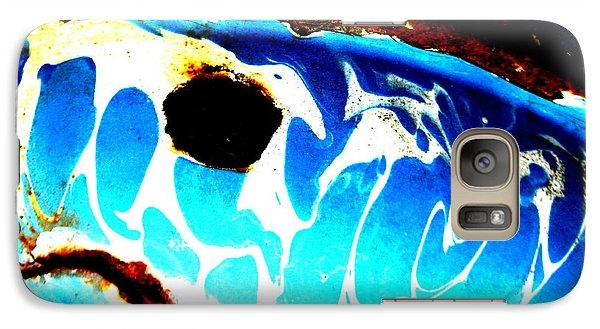 Galaxy Case featuring the photograph The Old Whale by Amy Sorrell