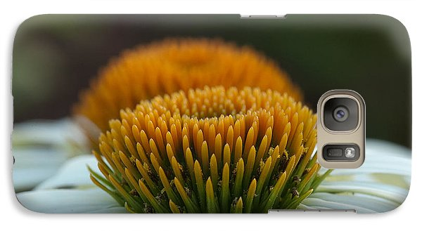 Galaxy Case featuring the photograph The Pair Of Coneflowers by Monte Stevens