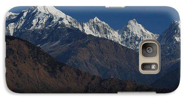 Galaxy Case featuring the photograph The Panchchuli Range by Fotosas Photography