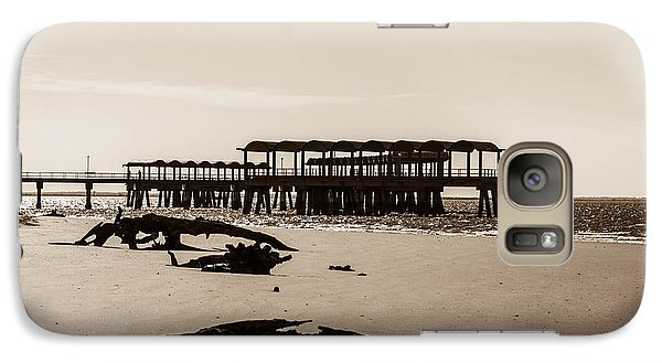 Galaxy Case featuring the photograph The Pier by Shannon Harrington