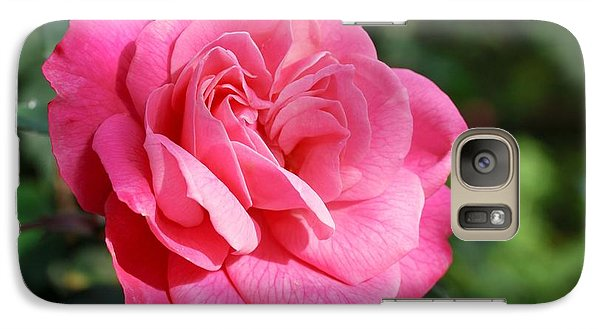 Galaxy Case featuring the photograph The Pink Rose by Fotosas Photography