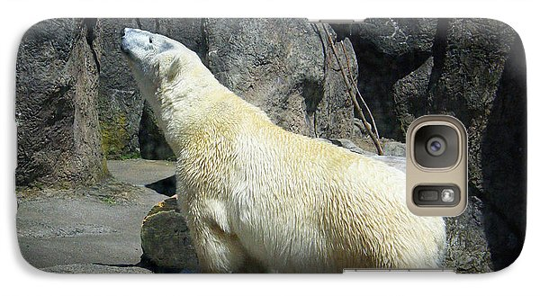 Galaxy Case featuring the photograph The Polar Pose by Wendy McKennon