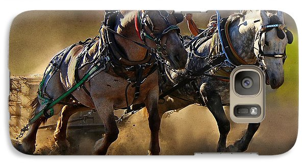 Galaxy Case featuring the photograph The Power Of Two by Davandra Cribbie