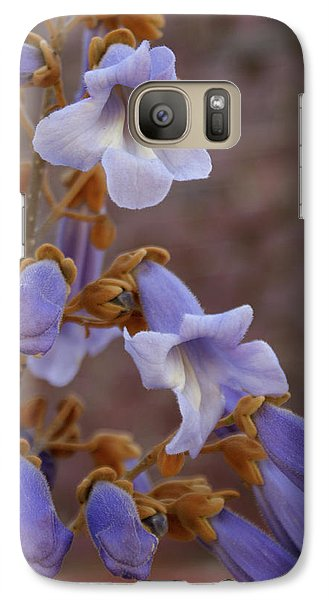 Galaxy Case featuring the photograph The Princess Flower by Paul Mashburn