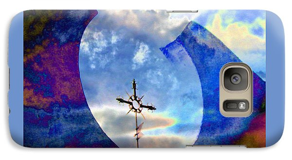 Galaxy Case featuring the photograph The Promise by Lenore Senior