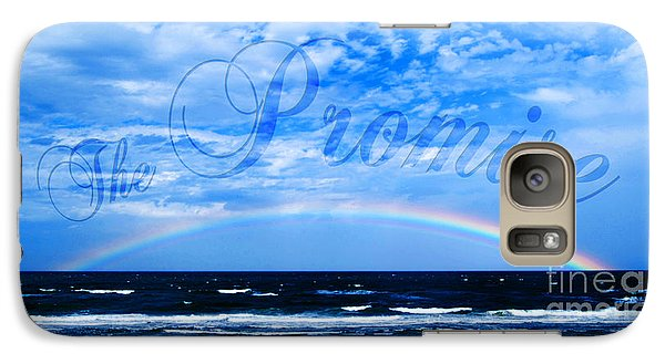 Galaxy Case featuring the photograph The Promise by Linda Mesibov