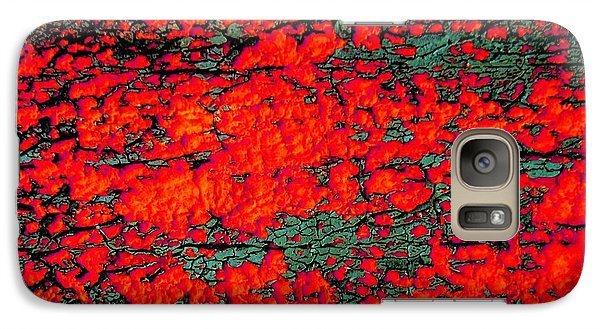 Galaxy Case featuring the photograph The Red Shed by Amy Sorrell