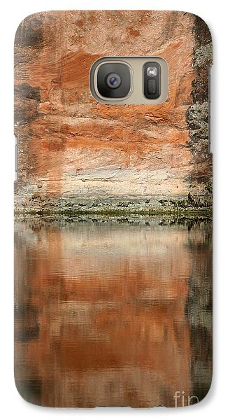 Galaxy Case featuring the photograph The Reflecting Wall by Nola Lee Kelsey