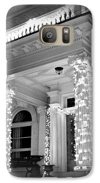 Galaxy Case featuring the photograph The Regular Way Then ... by Nancy Dole McGuigan
