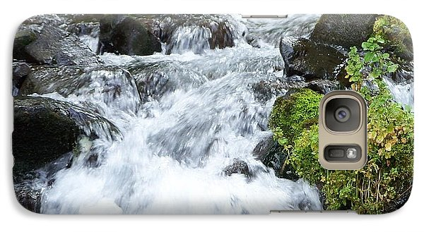 Galaxy Case featuring the photograph The Roadside Stream by Chalet Roome-Rigdon